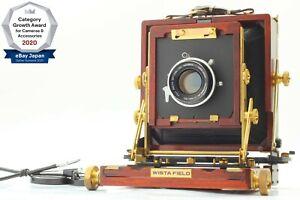 【NEAR MINT】 Wista Field 45DX Rose Wood + Fujinon W 150mm f/5.6 From Japan 1436