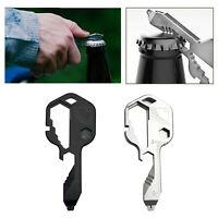 Portachiavi tascabile con chiave multiuso 24 in 1 EDC portatile in acciaio