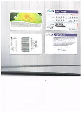 2 Fahrscheine/Tickets: RMV-Job-Ticket aus 2014 + Eintrittskarte Westfalenpark Do