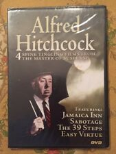 Alfred Hitchcock:Jamaica Inn, Sabotage, The 39 Steps, Easy Virtue (2006) NEW!