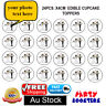 🏅24 personalised Wedding Hens Party Edible Cupcake Cake topper Wafer Gift Icing