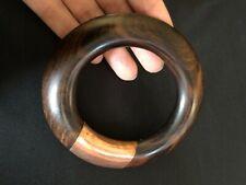 Vintage Wood and Copper Bracelet beautiful grain