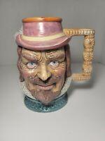 Magrou Character Toby Mugs Large Portuguese Beer Mug.
