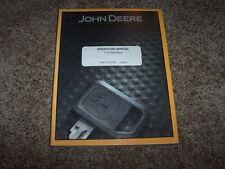 John Deere 540G 548G 640G 648G 748G Iii 360D Owner Operator Maintenance Manual