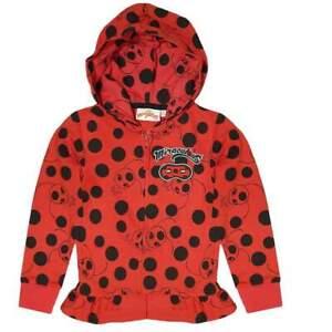Miraculous Ladybug Girls Sweatjacket Hoodie