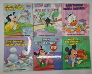Vintage Disney Baby Learning Weekly Reader Books Lot Of 14