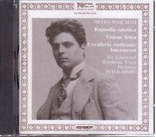 Mascagni: Rapsodia Satanica, Visione Lirica, Intermezzo Cavalleria / Himpe - CD