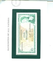 EAST CARIBBEAN 1965 $5 CURRENCY NOTE CHOICE CU 1303K