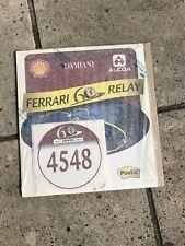 Ferrari 60th Anniversary 60ème Anniversaire Sticker Autocollant Original  Rare