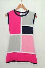 Gymboree Bright Ideas Size 12 Girls Sweater Dress Tunic Colorblock Blue Pink