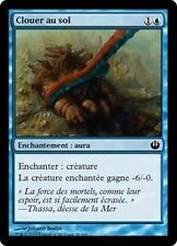 MTG Magic JOU - (4x) Pin to the Earth/Clouer au sol, French/VF