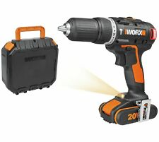 WORX WX348.1 Max Brushless Cordless Hammer Drill 20V 2 Gears 13mm Keyless Chuck