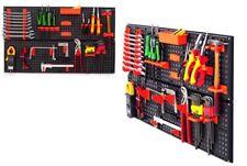 2 x Werkzeugwand Lochwand Werkzeuglochwand Werkstattwand aus Kunststoff 21 Teile