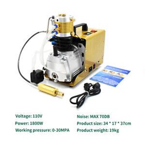 Electirc 1.8KW PCP High Pressure 30Mpa 300 Bar 4500PSI Air Compressor Pumpe