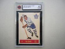 1957/58 PARKHURST NHL HOCKEY CARD #10 SID SMITH KSA 4 VG/EX SHARP!! 57/58 PARKIE
