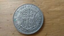 1930 GEORGE V HALF CROWN SILVER COIN KEY DATE