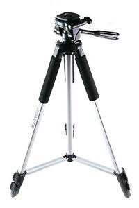 Bower VTSL1200 Lightweight Aluminum Tripod - 59 in. height - Silver
