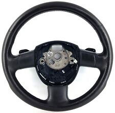 Genuine Audi DSG paddle steering wheel, black leather A3 A4 A6 S Line etc.  5A