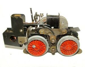 Jep France O Gauge ELECTRIC LOCOMOTIVE CHASSIS Tin Plate Metal Complete `50 RARE