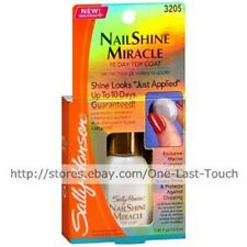 SALLY HANSEN*10-Day Top Coat 3205 NAILSHINE MIRACLE Nail Polish PREVENT CHIPPING