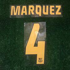 SIPESA AUTHENTIC BARCELONA NAME SET PRINT NAMESET MARQUEZ 4 2004-05 2005-06