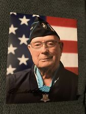 Hershel Woody Williams Signed 8x10 Photo Wwii Medal Of Honor Iwo Jima