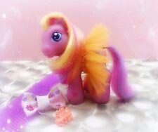 Rare My Little Pony G3 BABY Pink Sunsparkle Celebration Castle 2003 Tutu Skirt