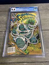 Superman: Man of Steel #18 CGC GRADED 9.4 - - 1st FULL doomsday