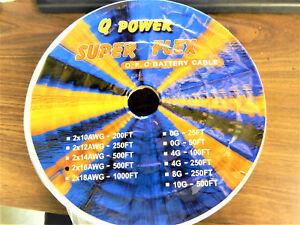 NEW NEW Q POWER SUPER FLEX 2x16AWG-500FT