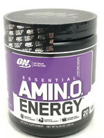 Concord Grape ON Essential Amino Energy 6.35 OZ 180 G 20 Servings New EXP 8/21