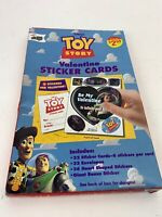 1995 Disney Toy Story 32 Valentine Sticker Card Kit NEW Mello Smello