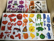 Set of 11 Posters Teaching Colors for Preschool/Kindergarten Classroom