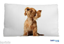 Happy Puppy Design Small Scatter Cushion Decorative Bed Pillow Gift 11 X 9""