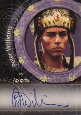 STARGATE - Peter Williams 'Apophis' #A6 Autograph Card #NEW