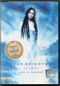 SARAH BRIGHTMAN La Luna In Concert 2001 NTSC DVD REGION-0 NEW SEALED