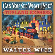 Can You See What I See?: Toyland Express: Picture Puzzles to Search and Solve by
