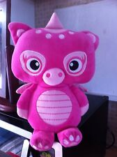 Girls Rosa 10 pollici Dragon (Toy Box) KEEL TOYS 2012 Beanie