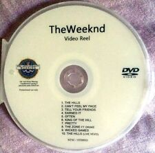 The Weeknd Weekend music video collection reel DVD  the hills pretty (not a CD)