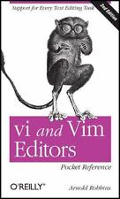 vi and Vim Editors Pocket Reference: Support for every text editing task: By ...