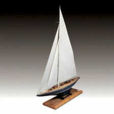 """Amati Yacht Endeavour 46"""" Museum Quality Wooden America's Cup Ship Model Kit"""