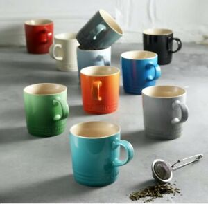 Le Creuset Stoneware Mugs-Espresso, 12oz, 14oz Sizes-Multiple Colors~YOU CHOOSE!
