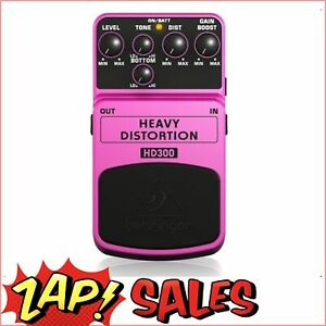 Behringer HD300 Heavy Metal Distortion Guitar Effects Pedal