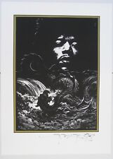 Jimi Hendrix by Stanley Mouse. Signed by the artist. Limited edition print.
