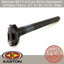 Easton EA70 Alloy Bike Seatpost Offset/Zero 27.2mm/30.9mm/31.6mm Road MTB Black