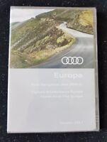 BRAND NEW AUDI RNS-E 2004-2009 NAVIGATION DISC DVD SAT NAV MAP 2017 A3 A4 A6 TT