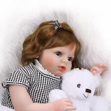 28'' Newborn Babe Reborn Lifelike Toddler Baby Short Hair Girl Arianna Kids Gift