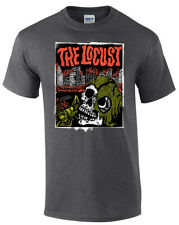 Locust T Shirt By Thomas Hazelmyer. Limited to 300. Official, Punk, Rare, GLOW.