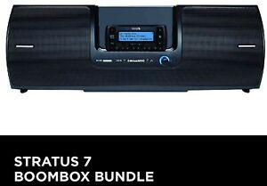 New! SiriusXM Stratus 7 Radio + Vehicle kit + Boombox Bundle - Sirius XM