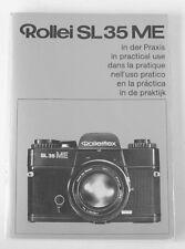 Rollei Rolleiflex Sl35 Me Instruction Manual multi-language