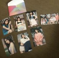 GFRIEND FEVER SEASON JAPAN Fan Club Limited Photo Card 7 Set Complete